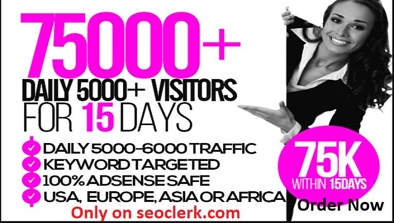 bring unlimited adsense safe, targeted webtraffic for...