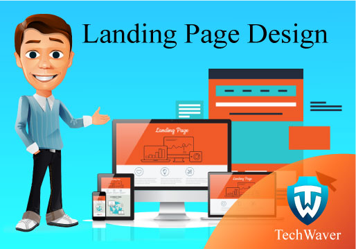 Get Awesome landing page design for your website with...