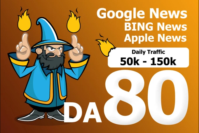 guest post on google news approved da 80 magazine blog with dof0llow link