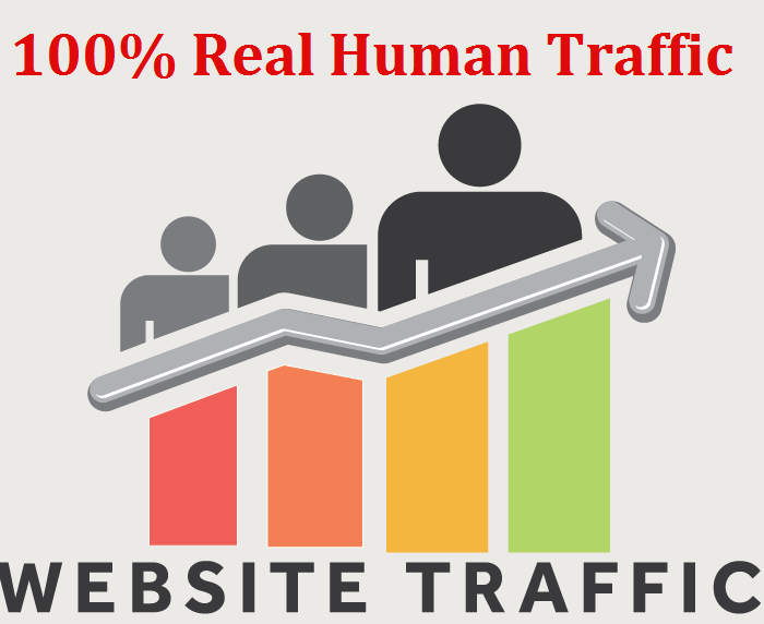 Send you 10,000 Real Human Website Traffic