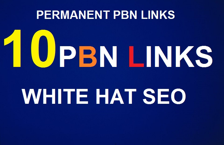 DA30 to 40 Manually Build 10 UNIQUE HOMEPAGE PBN backIinks