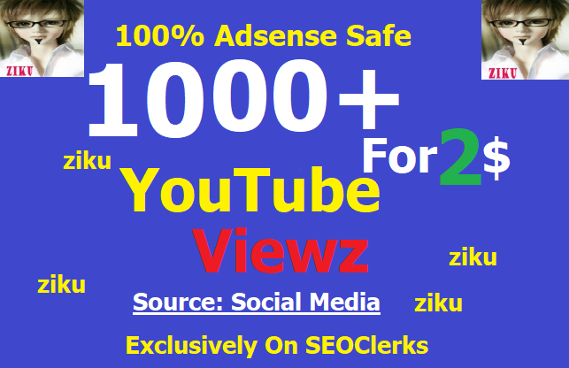 Add 1000+ High Retention Video Viewz Real people