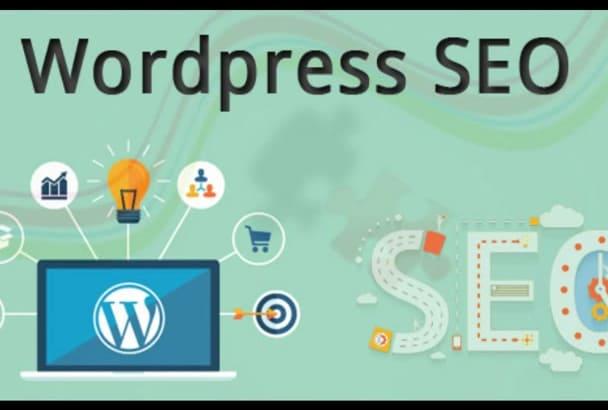 do wordpress on page SEO optimization with yoast