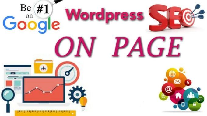 do wordpress onpage SEO optimization