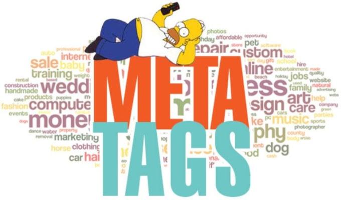create SEO meta tags,  meta title and meta description for your website
