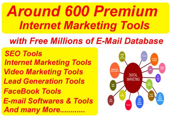 provide around 600, traffic, seo,social,online tools etc