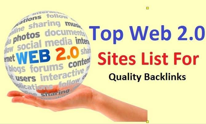 create 30 SEO backlinks from high authority web 20