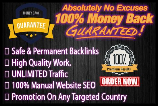 build SEO backlinks manually to rank your website on google