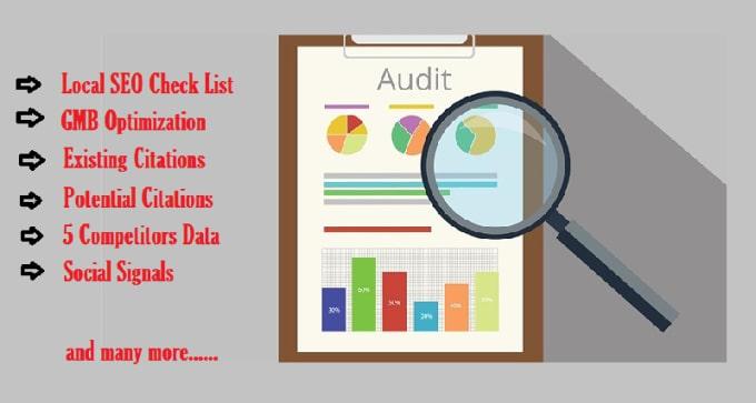 do local SEO audit for google 3 pack ranking