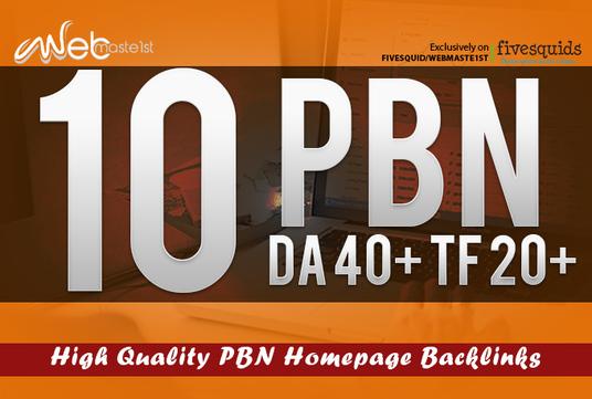 Create 12 Permanent PBN High Metrics Contextual Backl...