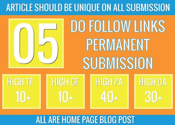 do 5 pbn permanent homepage dofollow backlinks