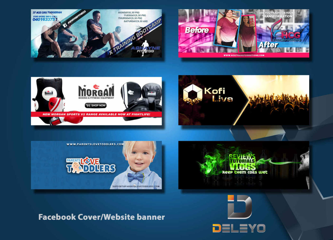 design a perfect youtube banner/cover