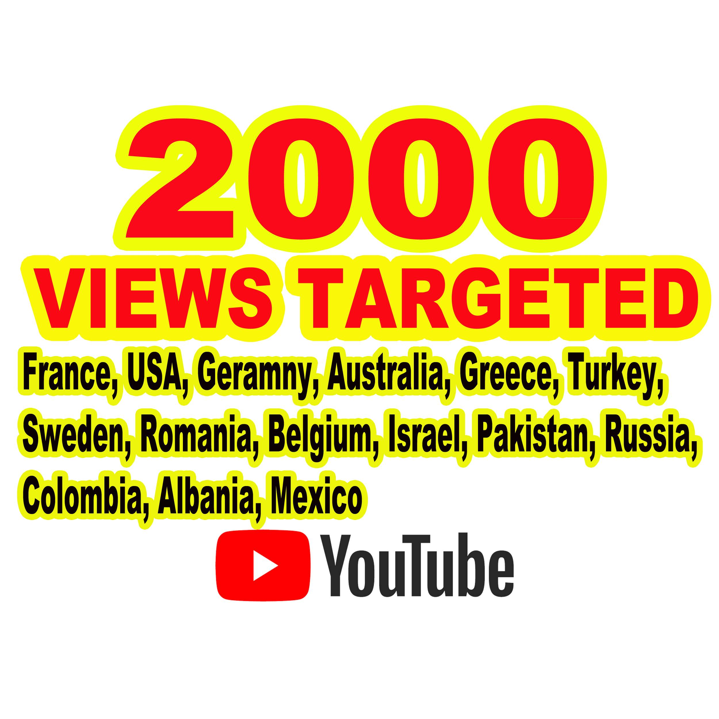 YouTube USA Video Promotion and Marketing And Other Country