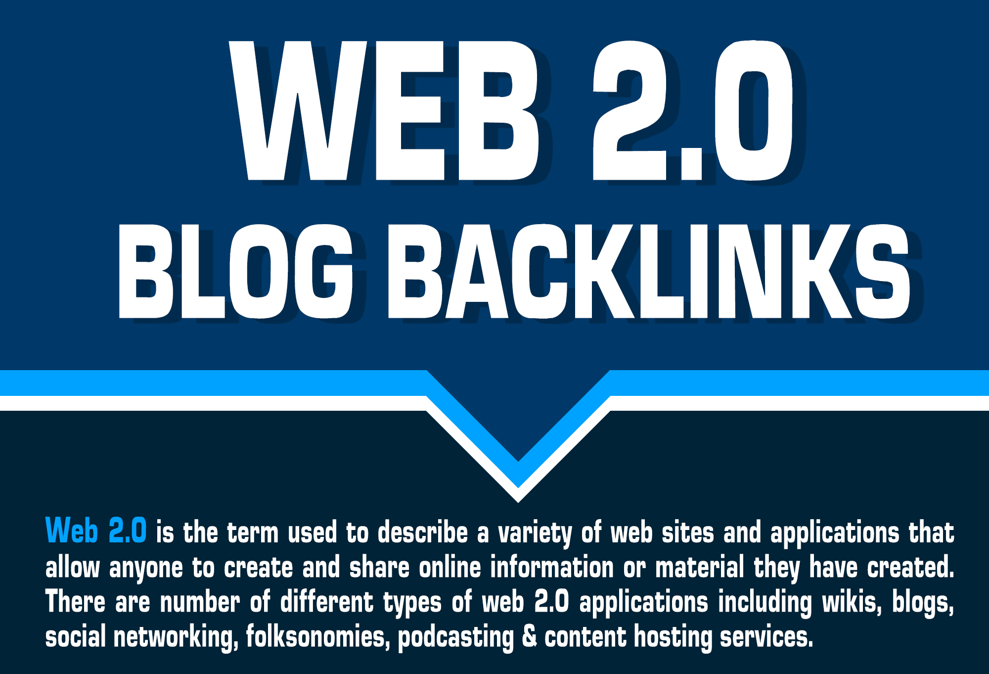 Provide Unique 20+ Web 2.0 blogs backlinks