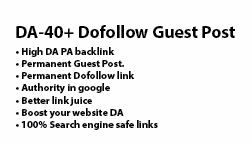 I Write And Build Guest Post Dofollow Link From Domai...