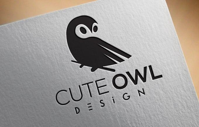 design simple minimalist creative logo for you