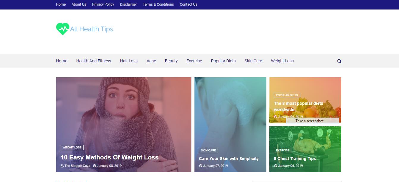 do Blogger theme Installation and customisation