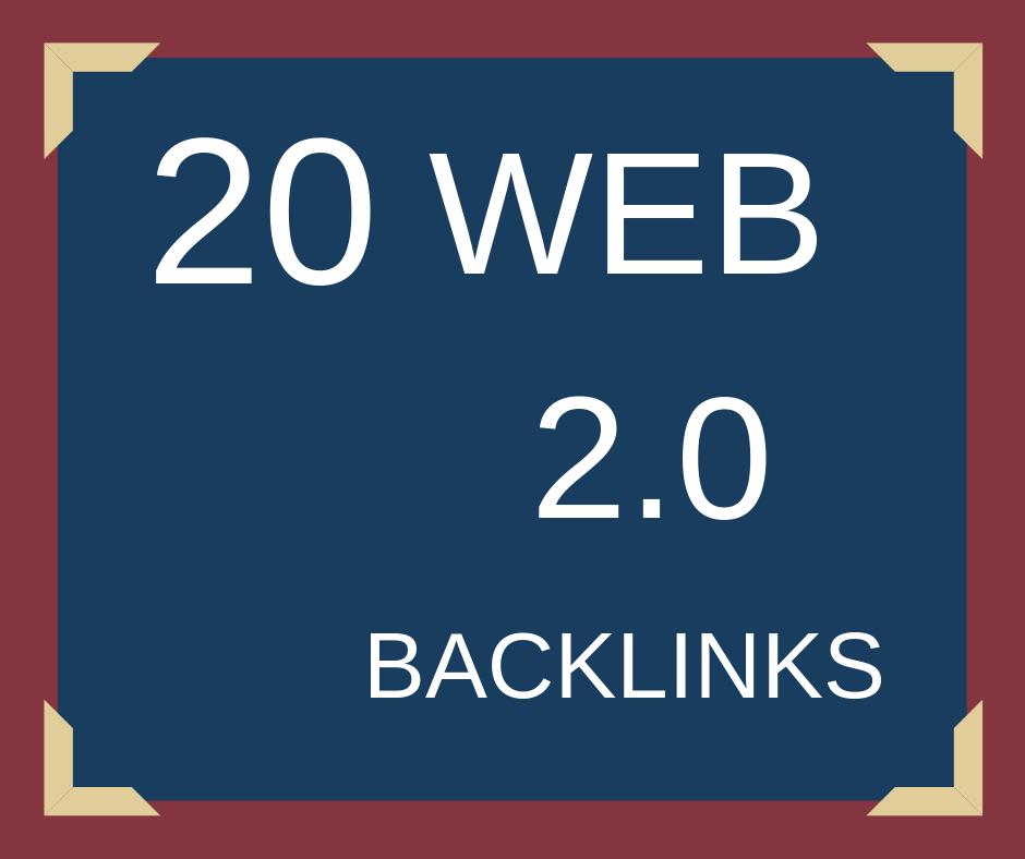 Create Web 2 0 Links On High Dofollow Sites