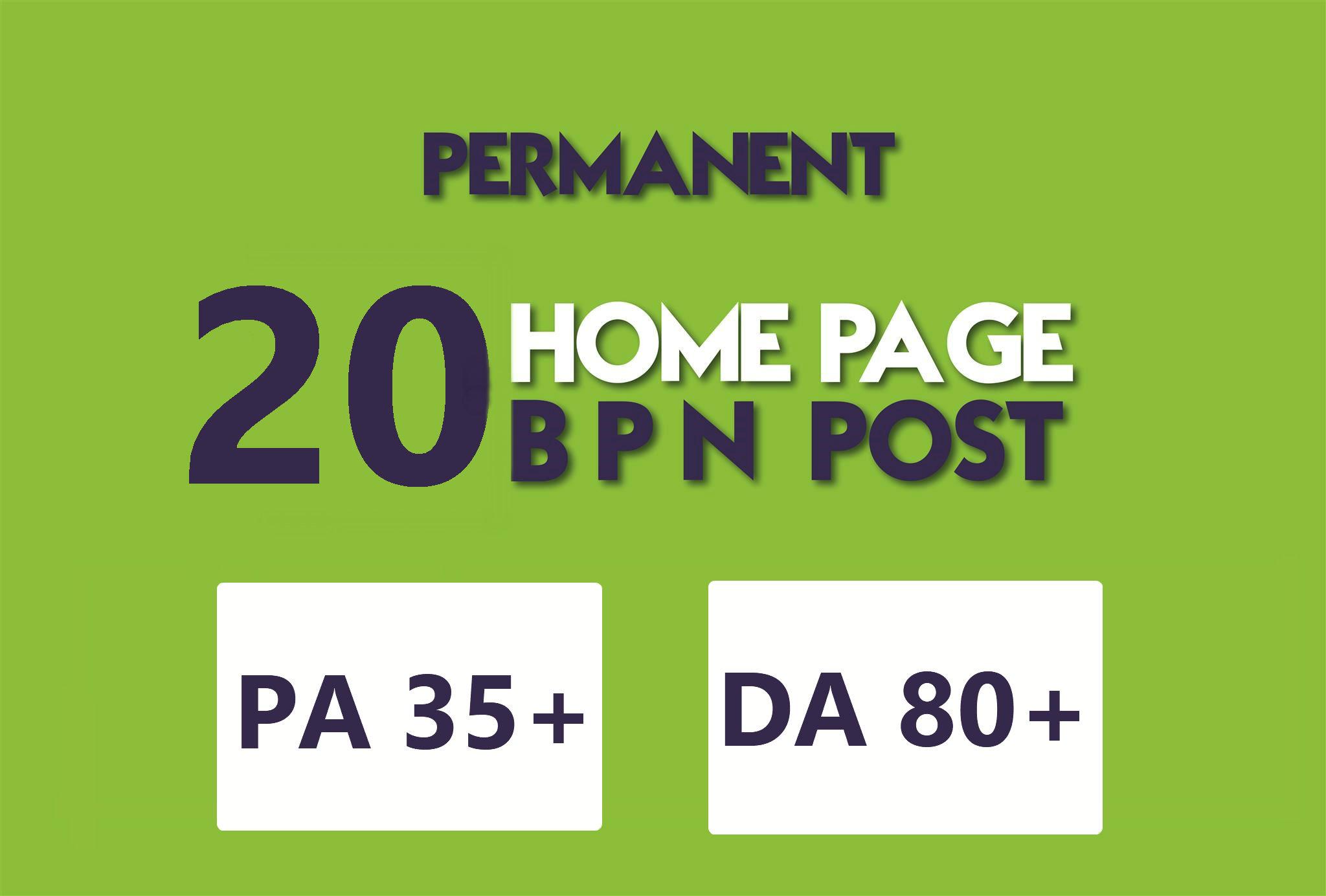 create 20 manual persian WEB2.0 PBN Homepage Backlinks Dofollow , DA+80 PA+35