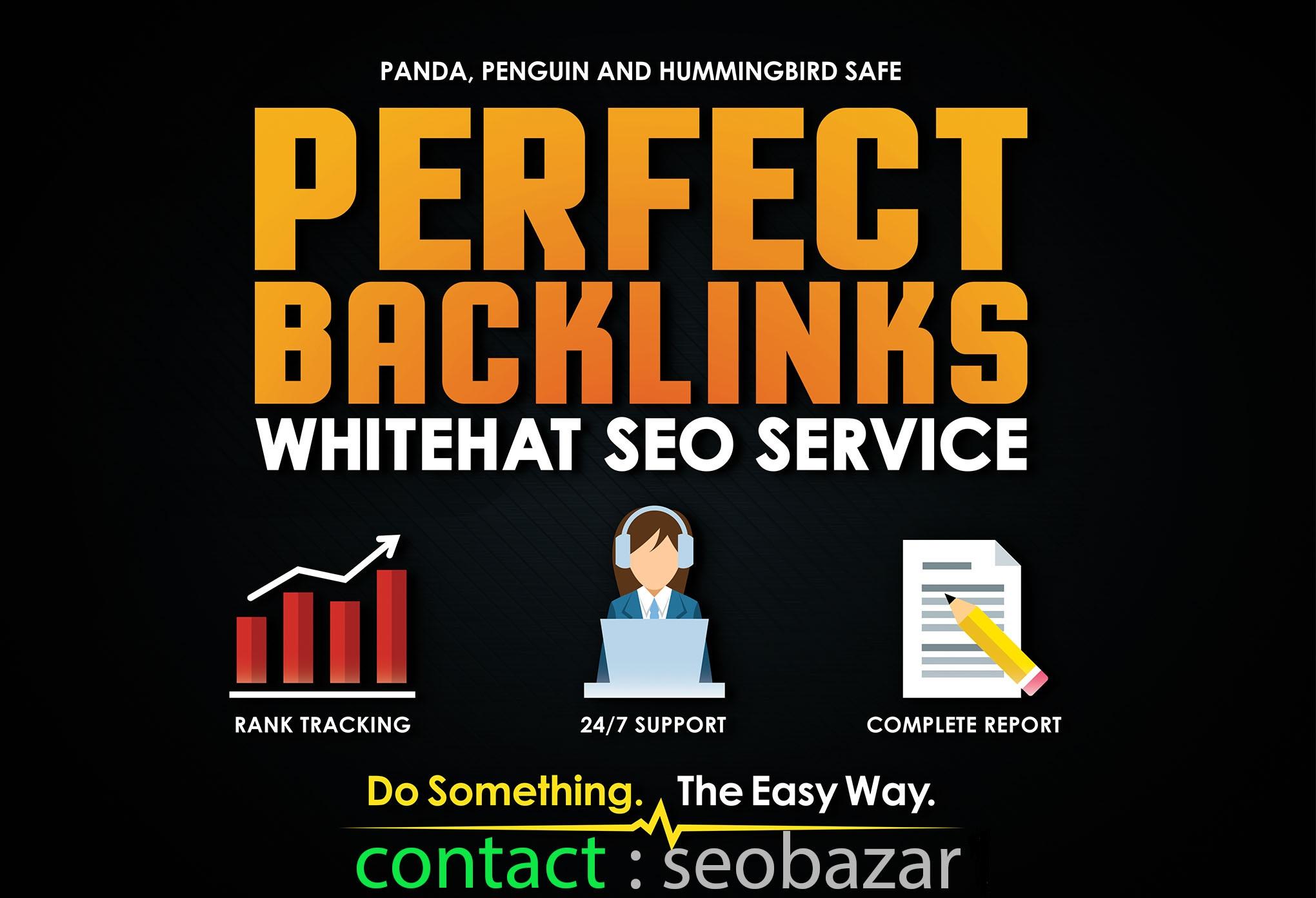 I will create 50 high pr backlinks