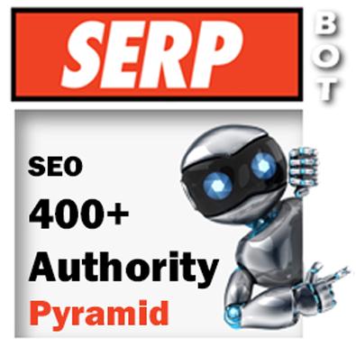 AUTHORITY Blast Pyramid - 410 SEO Backlinks PR9 DA100 New awesome exclusive SEO