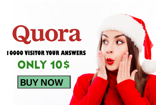 I Will Give You 10000 Visitor In Your Quora Answers