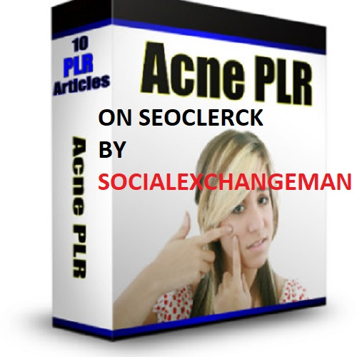 give you 600 + acne plr articles and up to 5000 keywords
