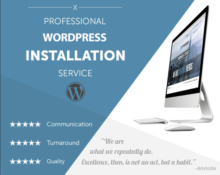 install wordpress, wordpress theme and demo upload in 3 hours