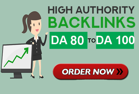 Rank higher in google with high DA 80 to DA 100 seo backlinks