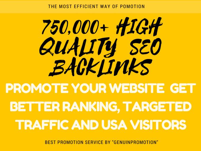 I will create Powerful SEO Backlinks to drive website...