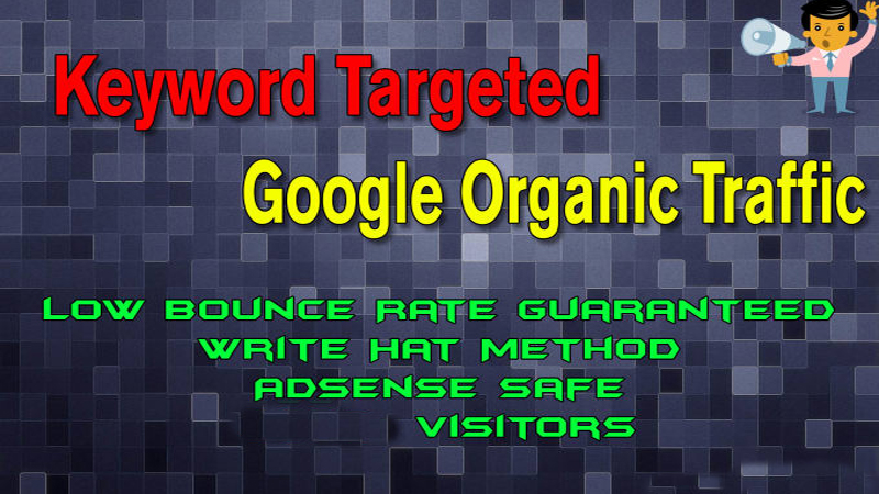 Send Worldwide Social or Organic with Low Bounce Rate traffic for incrase your google ranking