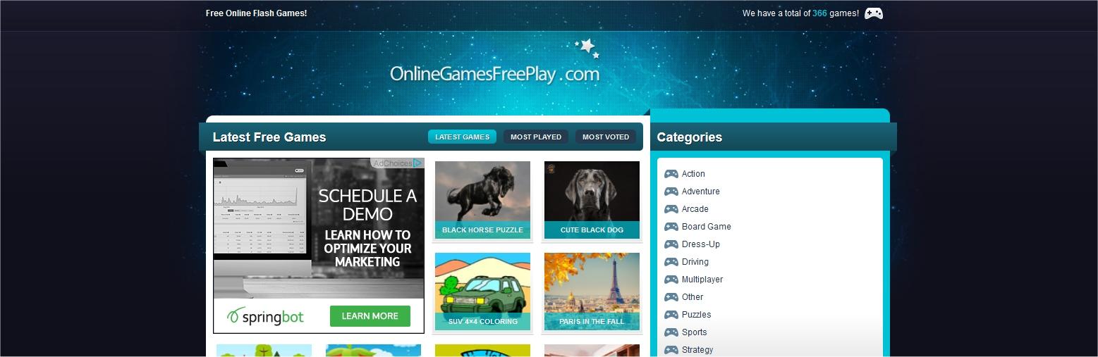 Link-on-Online-Games-website