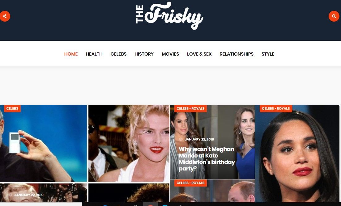 Publish a Dofollow Guest Post On Thefrisky.com DA-80