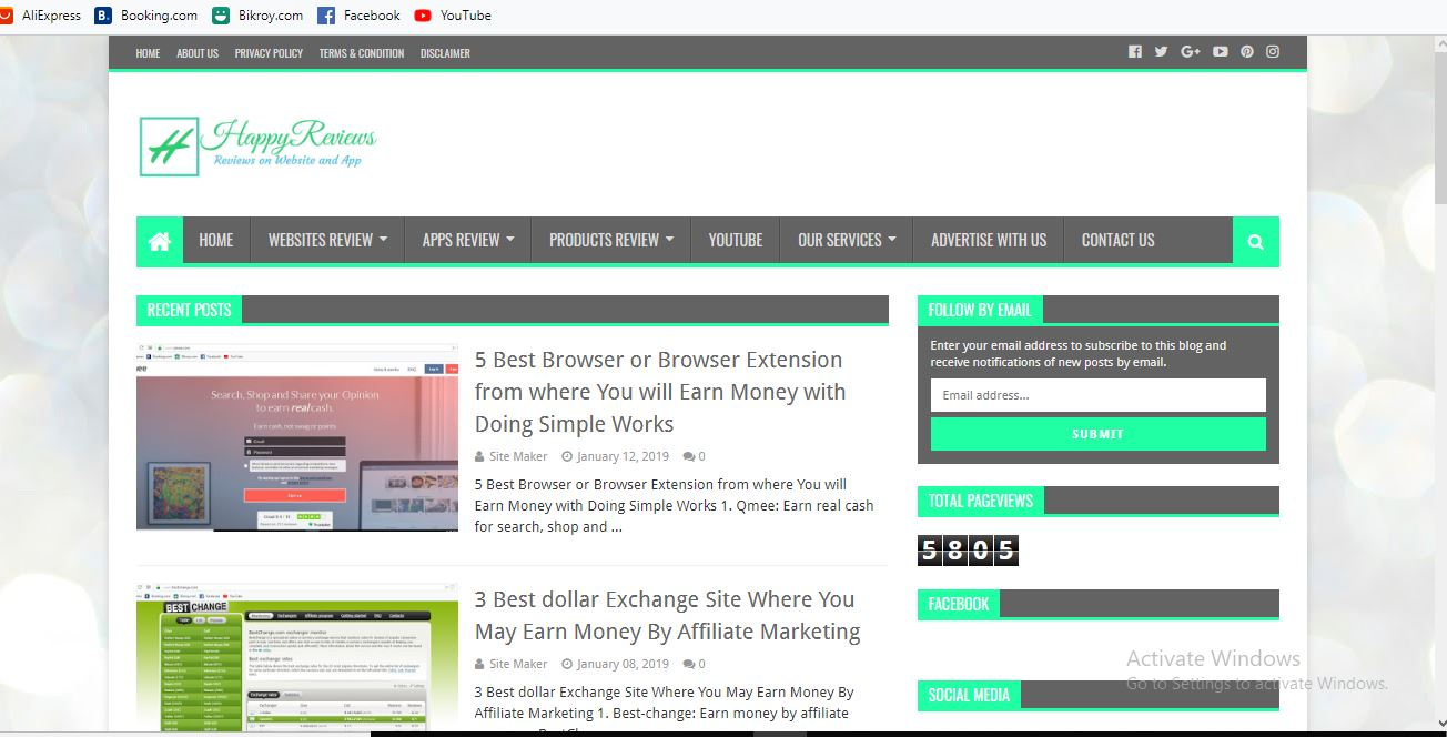 Customize a premium blogger website for you
