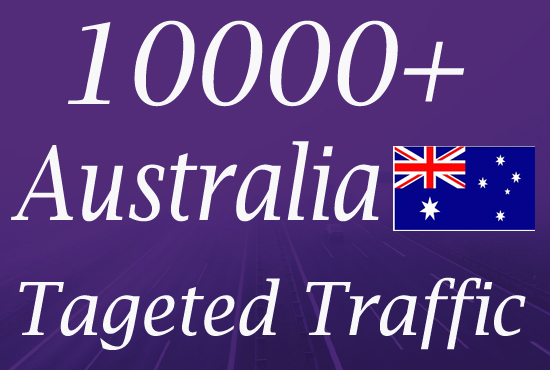 10000 Australia TARGETED Organic Web Traffic to your web or blog site