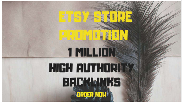 optimize etsy products with 1,000,000 SEO backlinks
