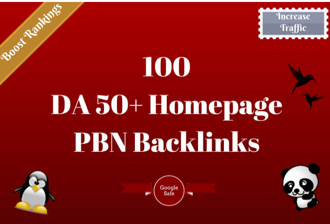 manually create 50 pbn links with high domain authority promotion