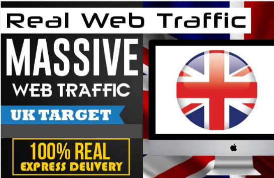 drive low bounce rate real uk web traffic