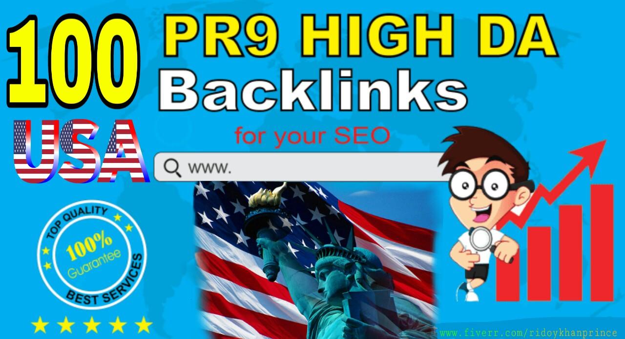 Create 100 Authority Backlinks, SEO Link Building Fo...