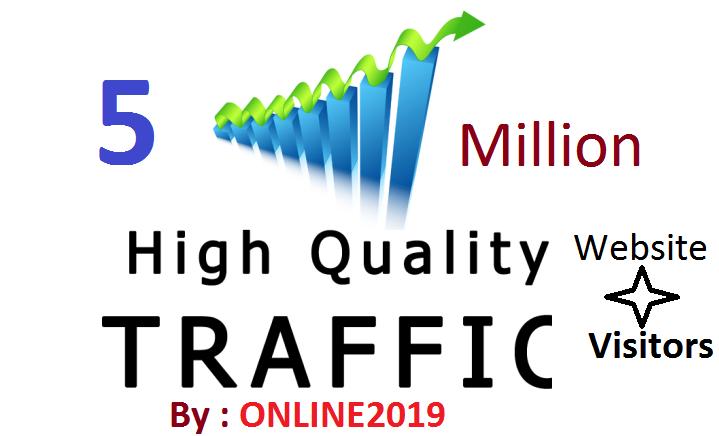 5 Million Worldwide Website Traffic Visitors For Online Marketing & Business Promotion Boost SEO Website Traffic & Share Bookmarks Improve Google Ranking Factors