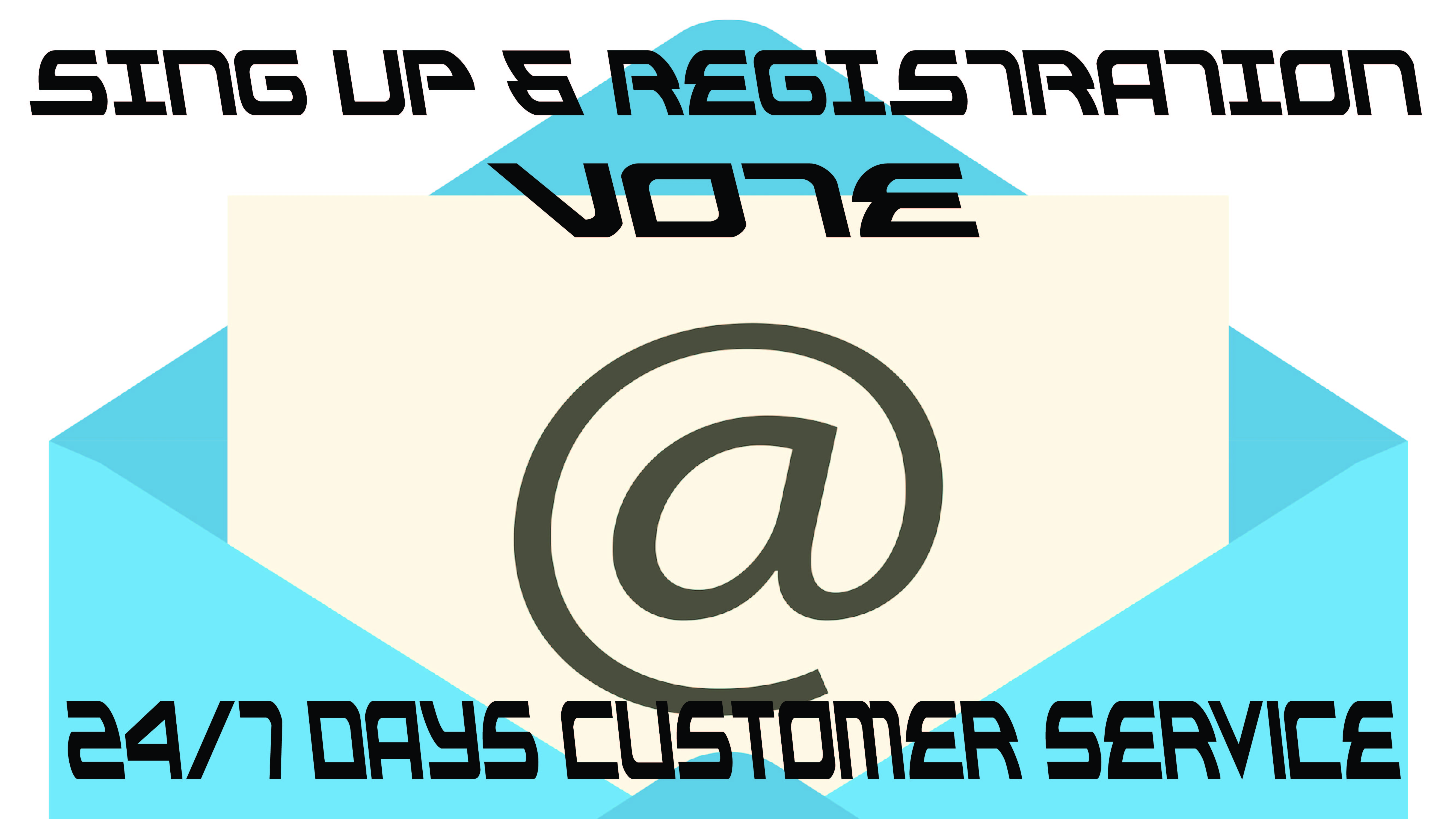 Do 80 Signup or Registration voting for your contest