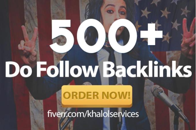 create 500 do follow backlinks
