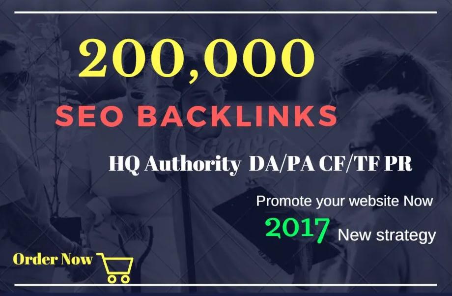 create 200,000 gsa,dofollow,backlinks for seo