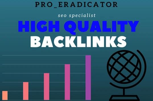 manually create high pr backlinks for google ranking
