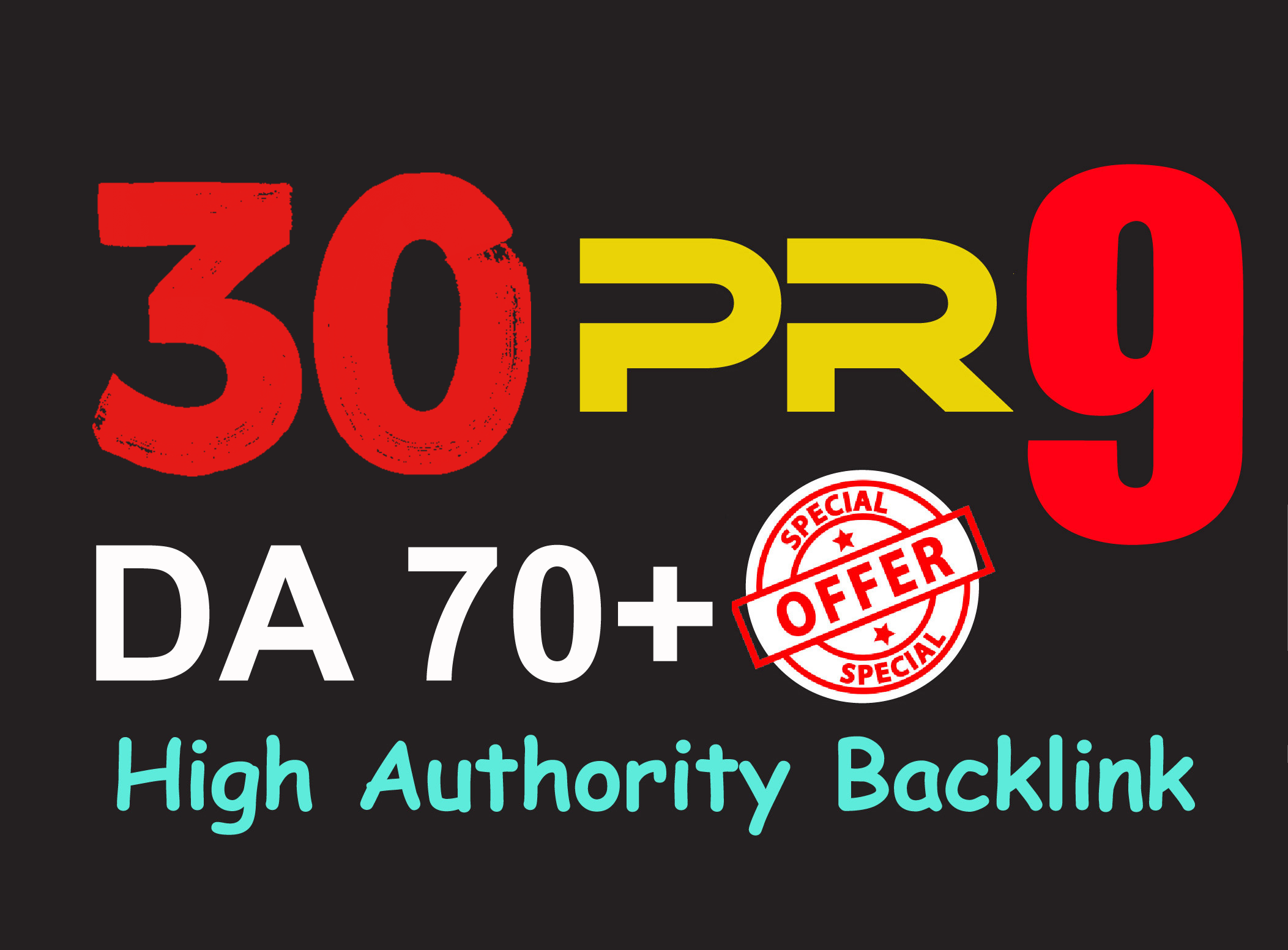 Exclusively-30 Backlinks 80+ DA Manually do Safe SEO ...