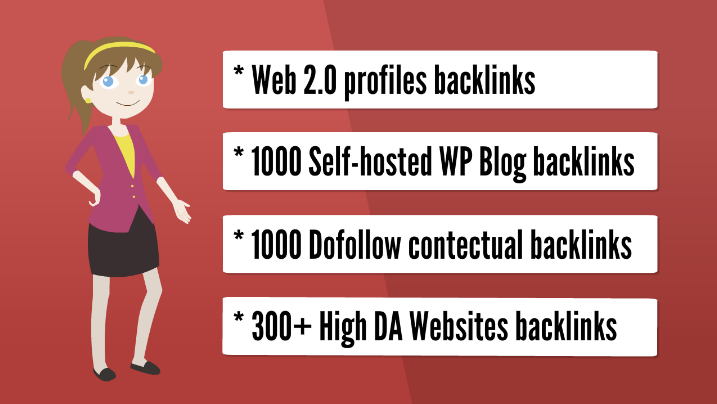 Get you 1,000 web 2.0 HQ backlinks, organic promotion, social promotion