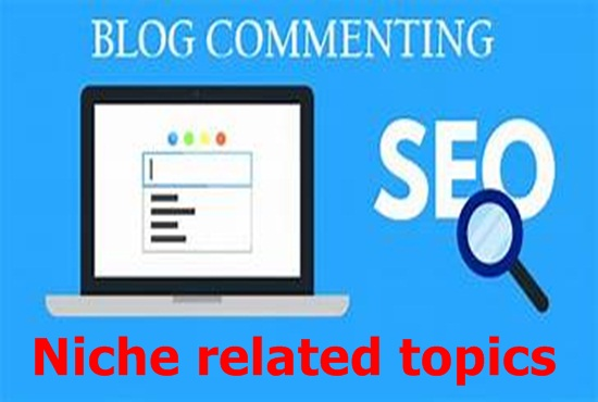 I service manual 100 Blog/image/other comments backlinks niche related topics