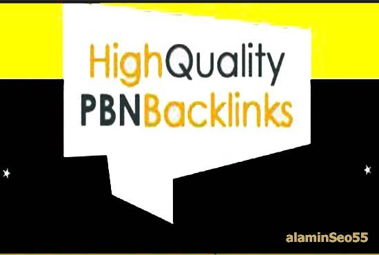 Get 20 High PA DA TF CF 40+, PBN links From Homepage Links