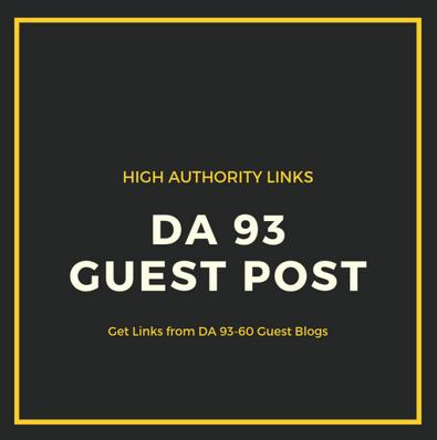 do guest post on da 93 high traffic site