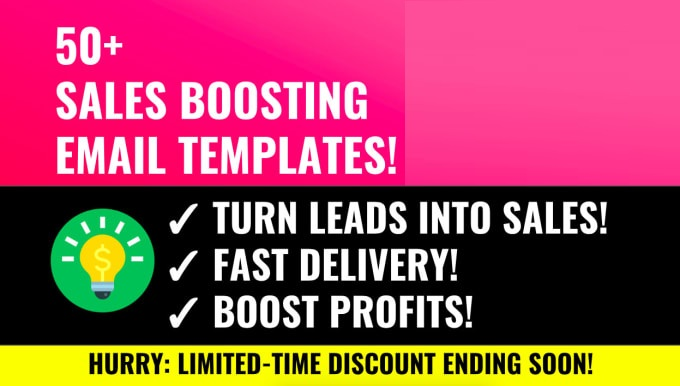 Send 50 Sales Email Copy Templates